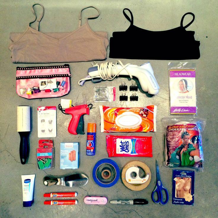 Wardrobe stylists kit