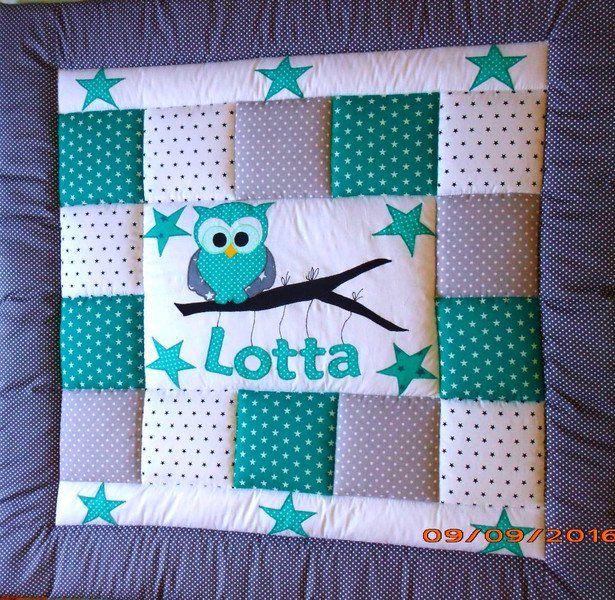 babydecken krabbeldecke kinderdecke patchworkdecke ein designerstuck von lanabw bei dawanda nahen nahen baby nahen und krabbeldecke nahen