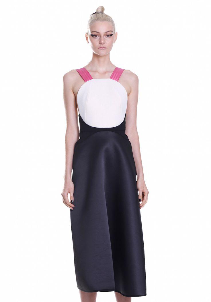 FRONT CIRCLE FLAIR DRESS    #UNTITLED #BYJOHNNY #SUMMER2015 #AUSTRALIANFASHION