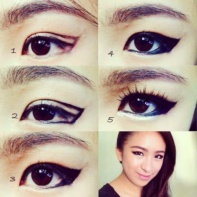 how to use makeup make eyes look asian saubhaya makeup