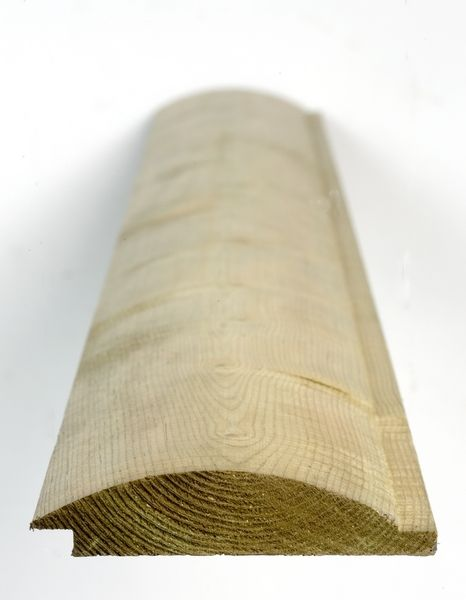 Hoppings Softwood Products: Q-Garden pre-treated timber loglap cladding 1 of 6