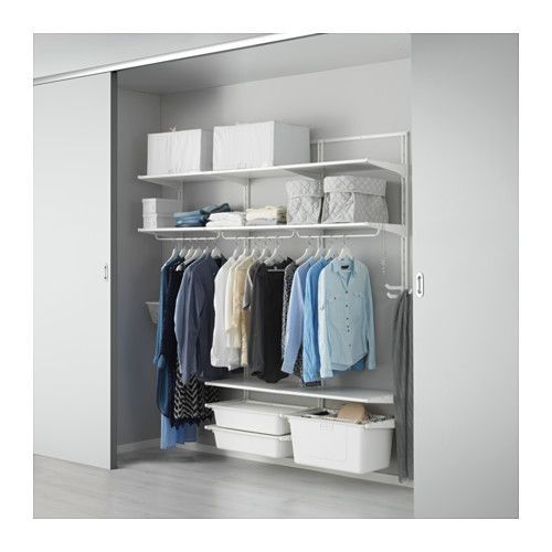 ALGOT Wall upright/shelf/triple hook  - IKEA