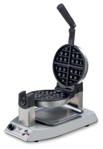 Waring Pro WMK300A Professional Stainless-Steel Belgian Waffle Maker