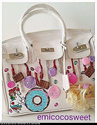 White Top Handle Cute Barbie bag,Kawaii Harajuku Barbie Doll princess cute bag in Clothing, Shoes, Accessories, Girl's Accessories, Purses & Wallets | eBay