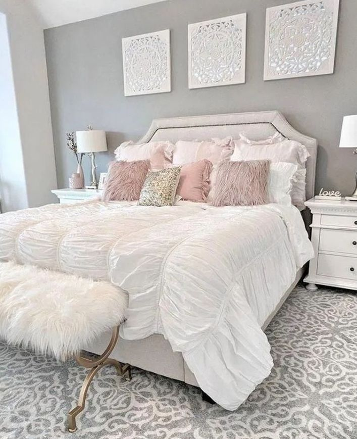 Elegant Bedroom Colour Schemes Designs For Teenage Girls 17 In
