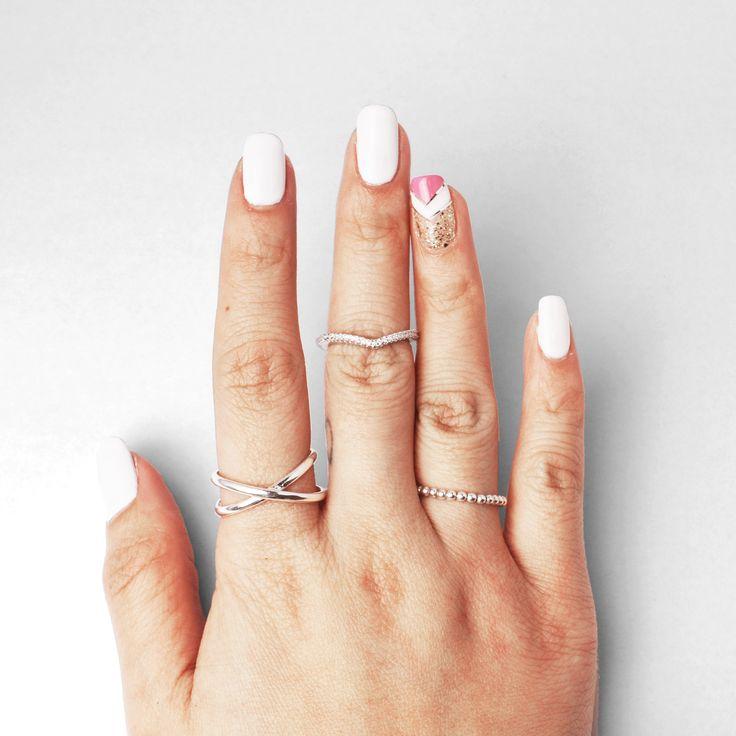 New rings coming very soon #pinchandfold #sneakpeak #jewellery #jewelry #stackerrings