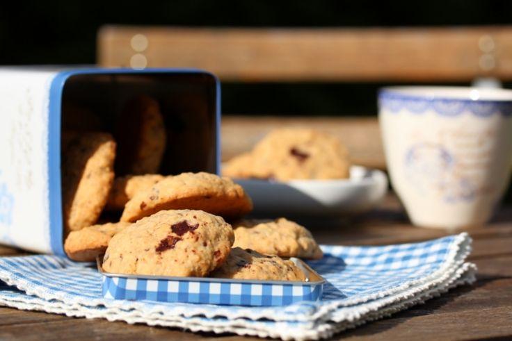 Havrekjeks med sjokoladebiter - TRINEs MATBLOGG