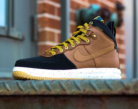Weather the storm and look fashionable in the Nike Lunar Force 1 Duckboot. Available now for $165 on CityGear.com