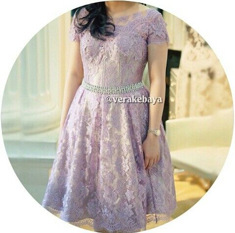 Baby Purple Party Dress By Verakebaya