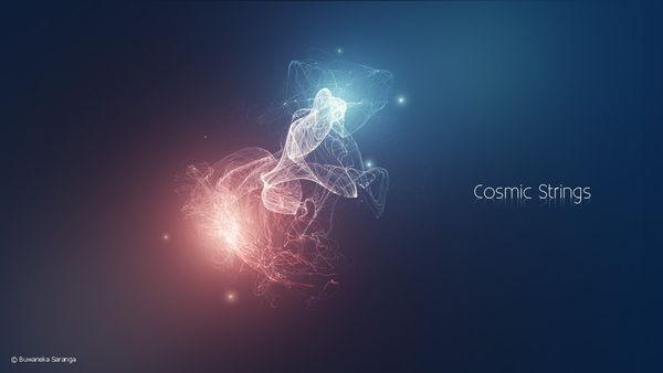 Cosmic Strings by Buwaneka Saranga, via Behance