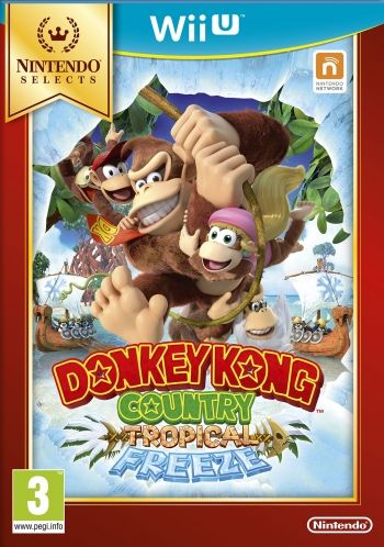 Donkey Kong Country - Tropical Freeze Nintendo Selects