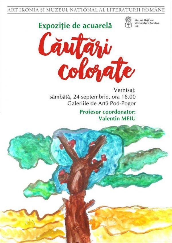 """""""Cautari colorate"""" expuse la Galeriile Pod-Pogor"""