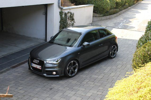Audi A1.. et le garage qui va avec !
