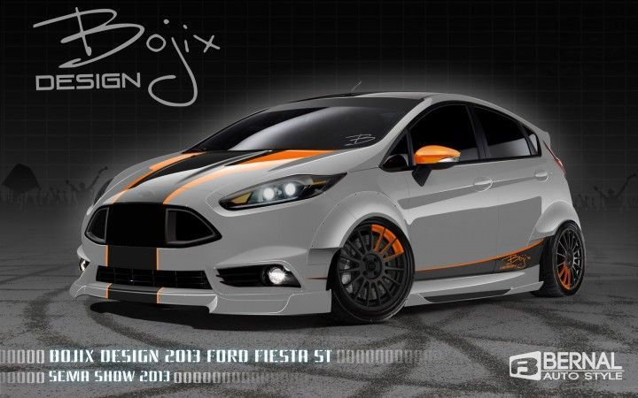 Ford Fiesta St By Bojix Design Voiture Musso