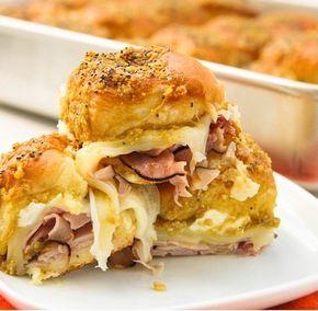EM PORTUGUÊS - Sanduíches havaianos de queijo e presunto » Amando Cozinhar