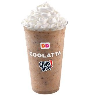 Dunkin donuts chips ahoy coolata