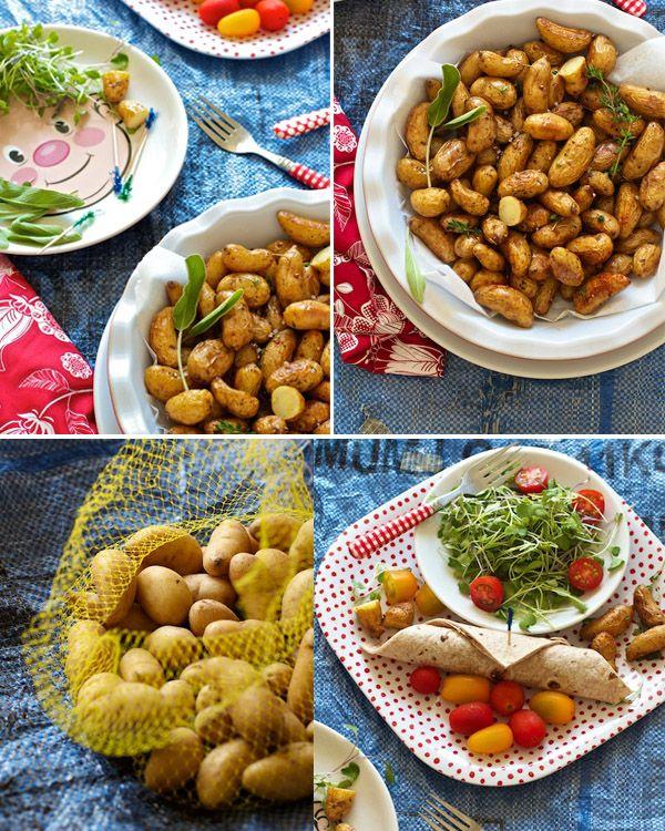 Favorite Teeny Tiny Roasted Herbed Potatoes Recipe