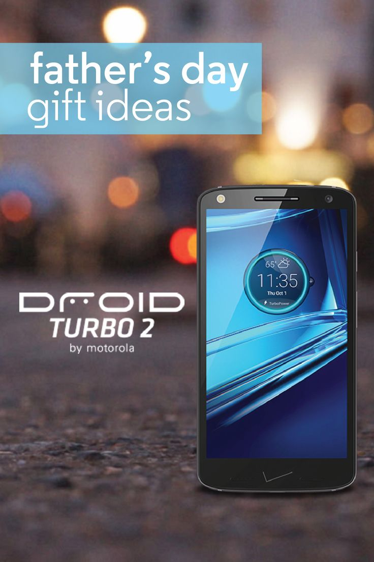 This Father's Day, upgrade your old man's life with the most durable smartphone on the market. The DROID Turbo 2 is equipped with top-rated technology to make Dad's life that much easier. Featuring a shatterproof screen and countless color combinations to choose from, it's the must-have smartphone that's built to last.