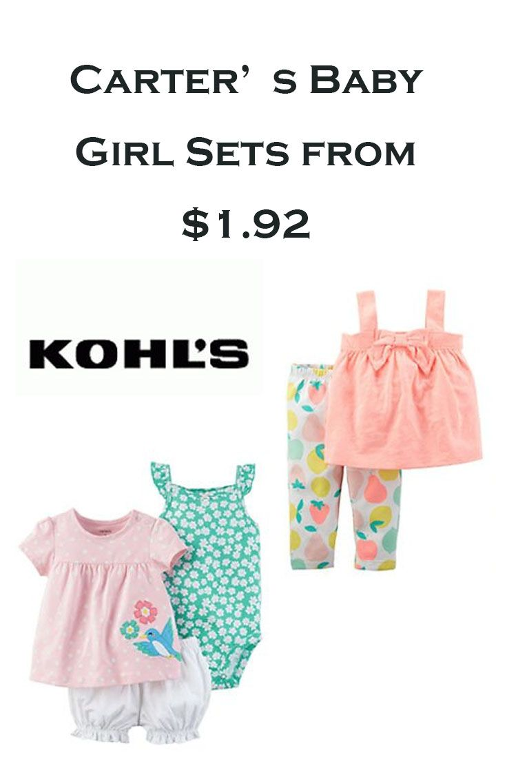 Carter S Baby Girl Sets From 1 92 Discount Kids Clothes Online