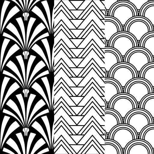 Best 25+ Art deco pattern ideas on Pinterest | Art deco borders ...