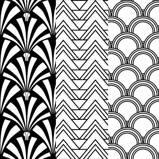 deco art and pattern -#main