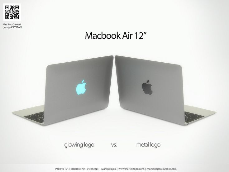 Battle of the 12 Inches – New MacBook Air and iPad Pro Shown Off in Mockups