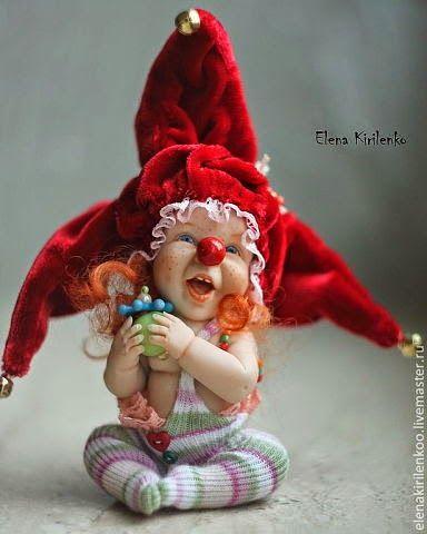 Елена Кириленко,авторские куклы,