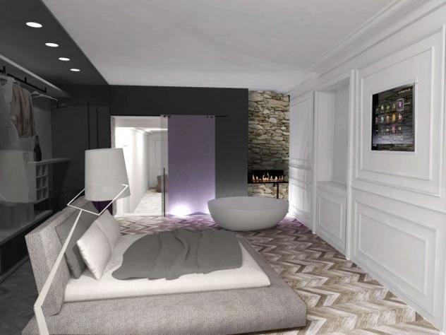 2in1 - Bedroom&bathroom, Bergamo, Italy