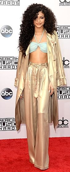 Zendaya: 2014 American Music Awards (She reminds me of a young Whitney Houston or Aliyah here LOL)