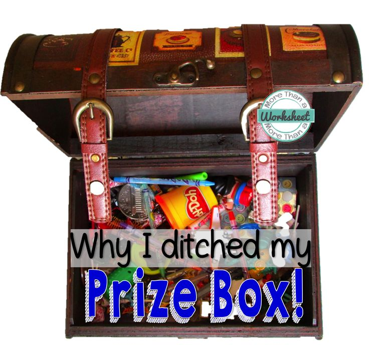 "As a beginning teacher, I knew that it is important to recognize and reward positive behavior, so I adopted a prize box for the same reason I added ""Go to the principal's office"" as number 5 on my list of consequences, well, because that's what my teachers did. Those first few years, I didn't really put a ton of thought into developing [...]"
