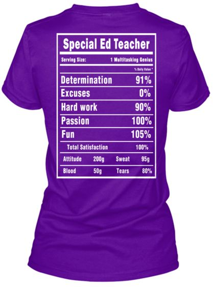 Special Ed Teacher T-Shirts and Hoodies