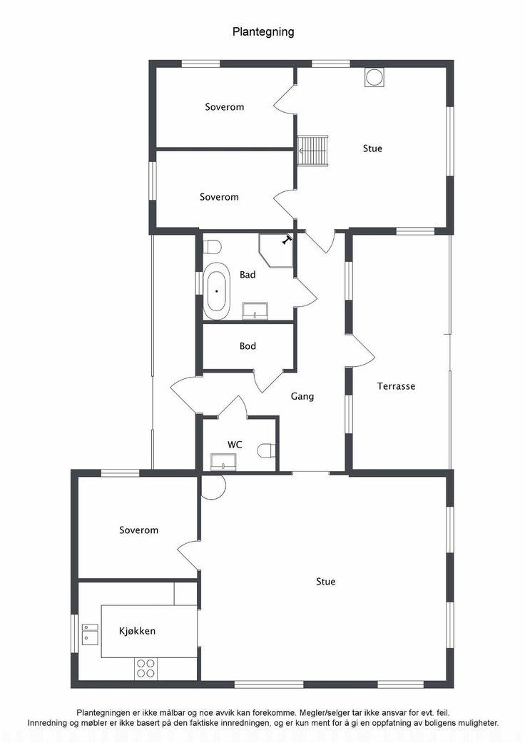 Romslig laftehytte med praktisk arealløsning og med god rominndeling som inneholder følgende: Fløy I: Stue/spisestue, kjøkken, samt hovedsoverom. Fløy II: Tv-stue, 2 soverom samt hems. Mellombygg: Hall/entre med utgang til terrasse, bad/wc, gjestetoalett, samt bod/teknisk rom.