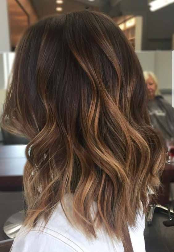 Amazing caramel balayage that you can do at home