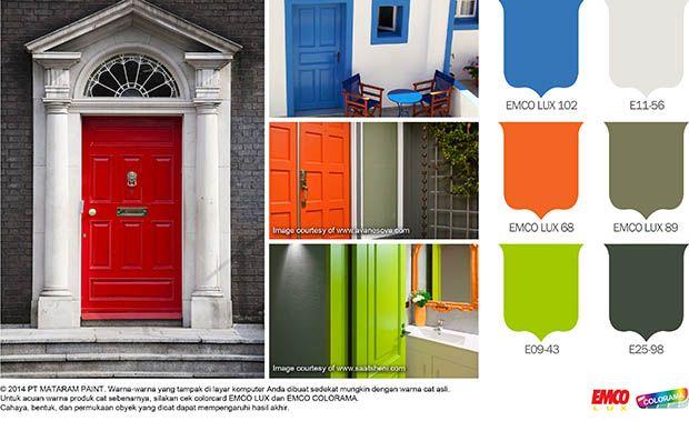 Ekspresikan Warna Favorit pada Pintu Anda! #BiasaJadiLuarBiasa http://buff.ly/1oSNZfL