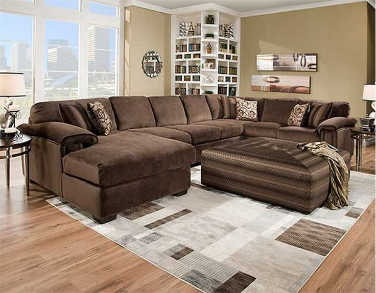 6500RB3PC in by American Wholesale Furniture in Smithfield, PA - 3 PC Sectional
