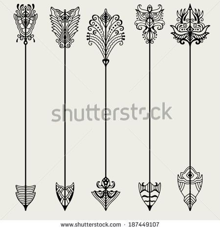 Medieval arrows Stock Photos, Medieval arrows Stock Photography ... Tattoo ideas