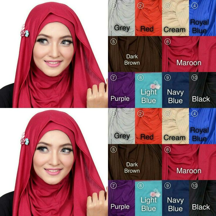 Pre-order Flowery Peafowl  Casual peafowl with flower accesories at side. Description : - material : rayon solid ( stretchable ) - face circumference : 26 cm ( 52 cm) - length : 110 cm  Available colours in pictures illustrated above.  Price $18 each only. Pls PM to order, tq.   #hijab #muslimah #tudung #shawl #singaporehijab