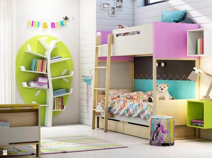 Łóżko piętrowe Loft - zdjęcie od Gotowe Wnętrza - Pokój dziecka - Styl Nowoczesny - Gotowe Wnętrza