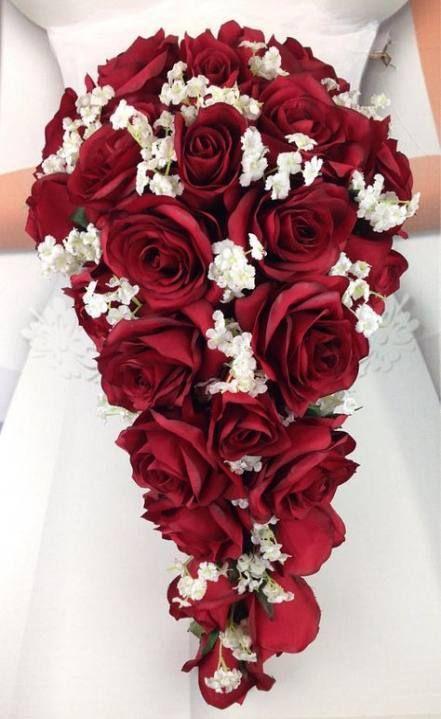 51 Trendy Small Bridal Bouquet Red Babies Breath  – Brautsträusse
