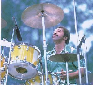 "Tony Williams,great jazz drummer.  Joined Miles Davis' ""Legendary quintet""(with Herbie Hancock,Wayne Shorter,Ron Carter).  He featured Polyrhythmic phrase"
