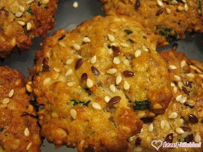 Ízzel-lélekkel készült receptek: Sós nassolnivaló: medvehagymás- zabpelyhes tallér (rizsliszttel)