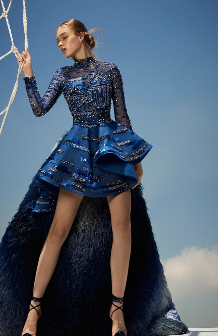 548 best BLUE DRESSES images on Pinterest   Belted dress, Blue ...