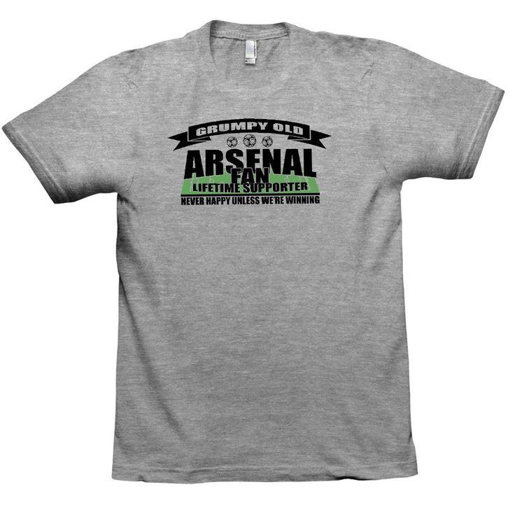 Grumpy Old Football Fan Womens American Apparel Tee T-Shirt Sports Ts354