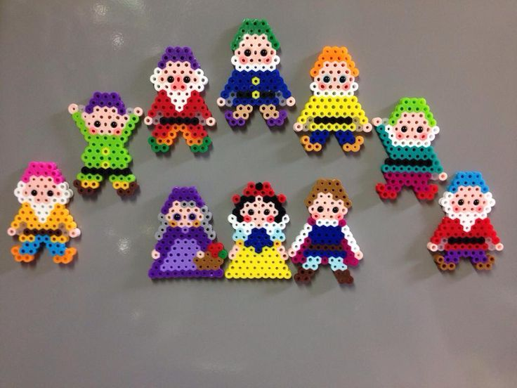 Snow White - perler beads