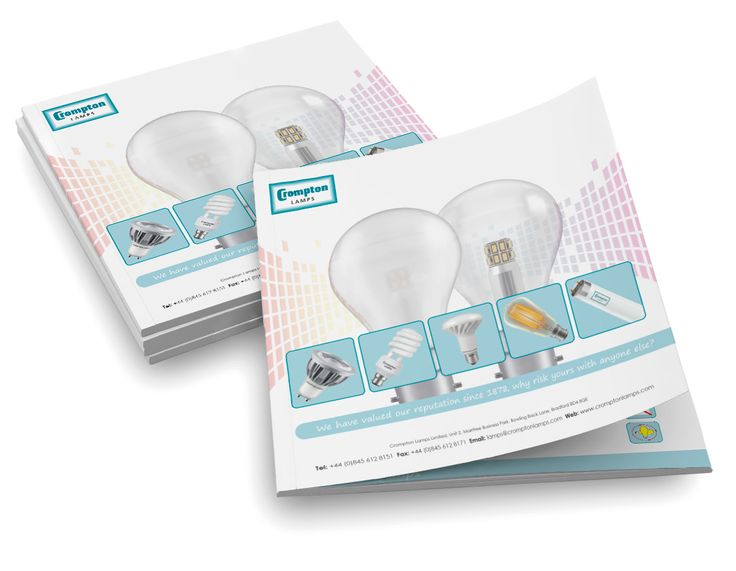 Crompton Lamps new catalogue for 2015