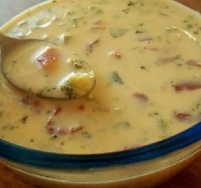Weight Watchers Yummy Cheese Soup