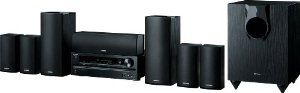 Onkyo HT-S5600 7.1-Channel Home Theater Receiver/Speaker Package by Onkyo. $599.00. From the Manufacturer                                 HT-S5600 7.1-Channel Home Theater Receiver/Speaker Package                Dynamic Power and Quality      from the Home Theater Professionals  Rediscover your favorite movies, music, and games in surround sound with  this seven-channel home theater package from Onkyo.  Easy to set up, simple to use, and packing a huge amount of p...
