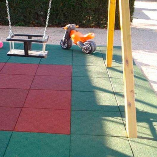 Pavimentos Infantiles. Baldosas de 500 mm x 500 m.  Precio por baldosa. Envío en 2-4 días laborables. Pago seguro en masquejardines.com