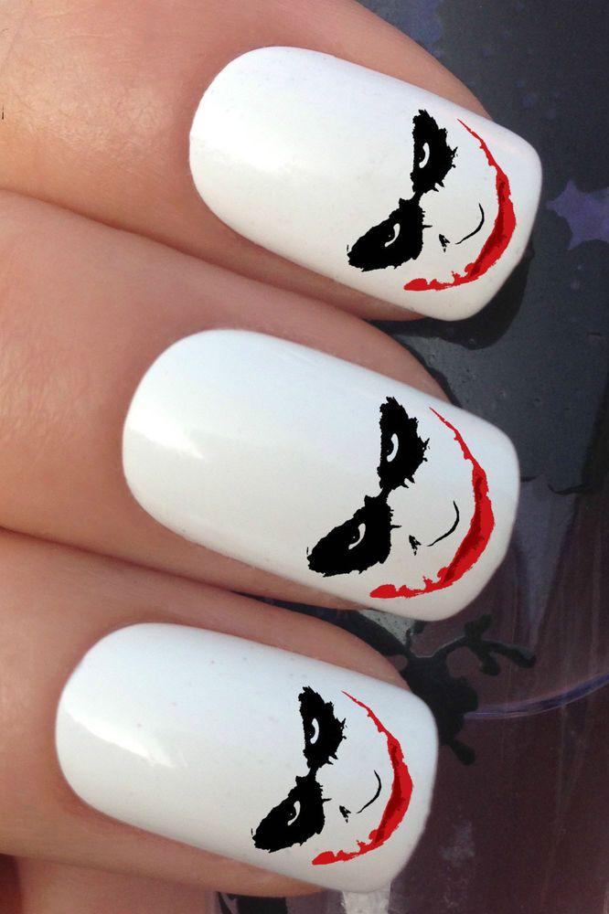 13 best joker nails images on Pinterest   Jokers, The joker and Joker