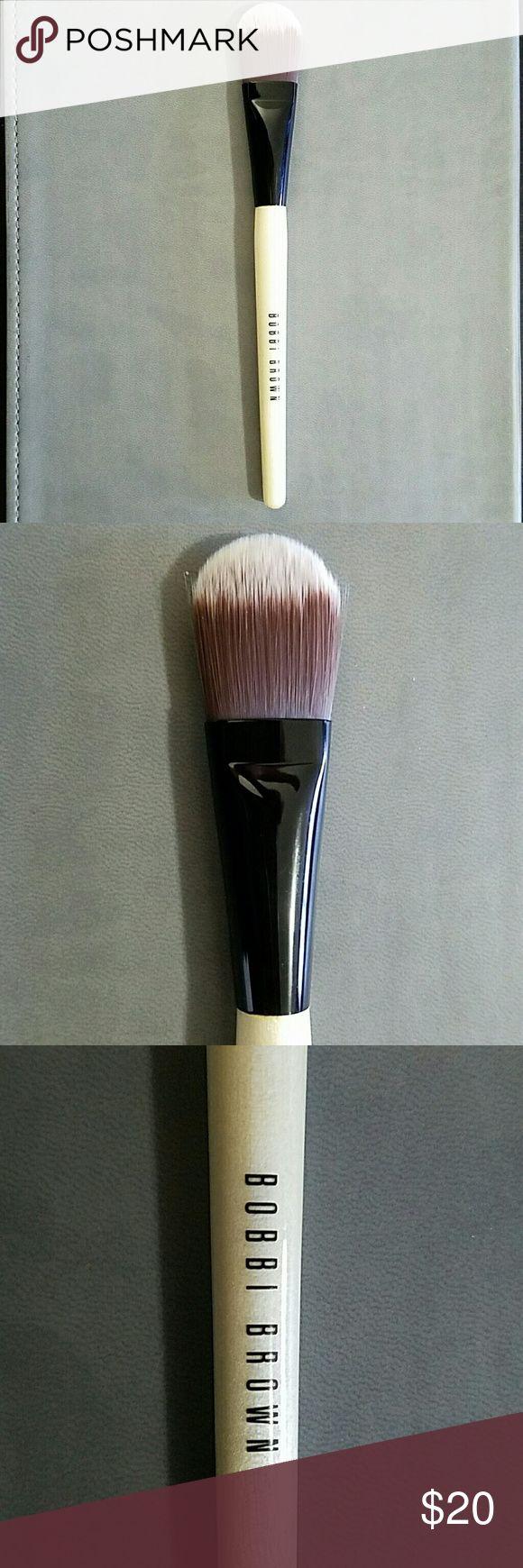 Bobbi Brown Foundation Brush Authentic original Bobbi Brown foundation brush -- brand new, never used!!! Bobbi Brown Makeup Brushes & Tools